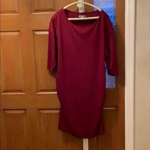 Great Fall Maternity Dress